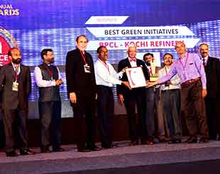 Green Initiatives of BPCL Kochi Refinery win KMA Excellence Awards 2017