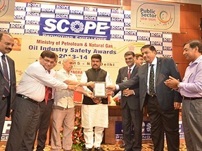 Sixth time in a row, OISD Safety Excellence Award to BPCL LPG Marketing