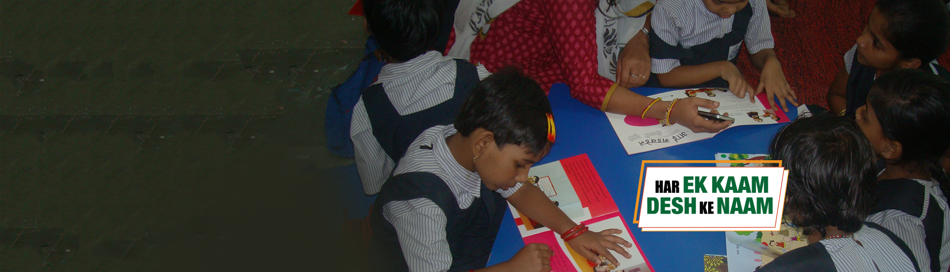 More than 8 lakh children educated thrugh our various CSR programs