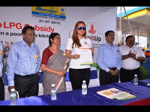 Give it up Campaign by BPCL in Hyderabad