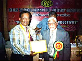 INSSAN AWARD 2008 FOR SUGGESTION