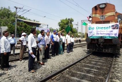 Launch of Bio Diesel in RCD-Secunderabad I&C Territory.
